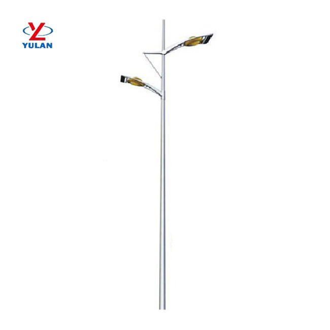 High quality south africa standard height of design of solar street light poles
