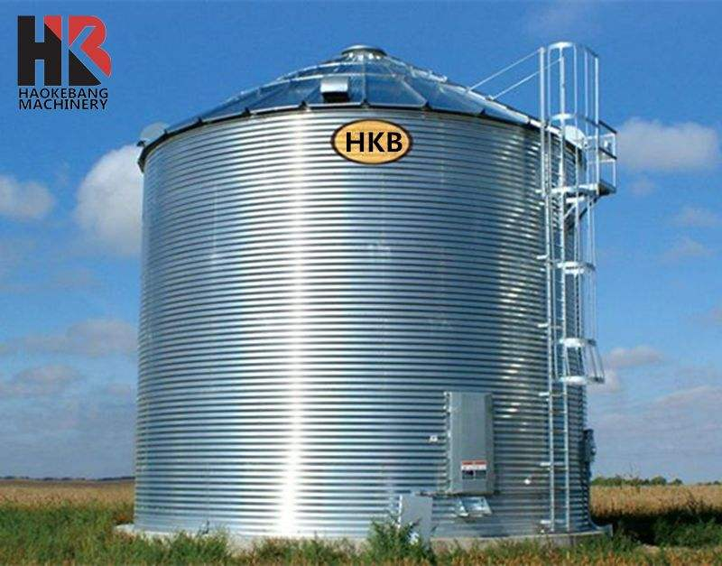 500 Tons Corn Feed Grain Silo for Sale