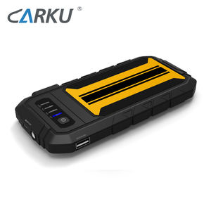 CARKU 6000mAh Quick Charge high quality car jump starter for small gasoline car 12V