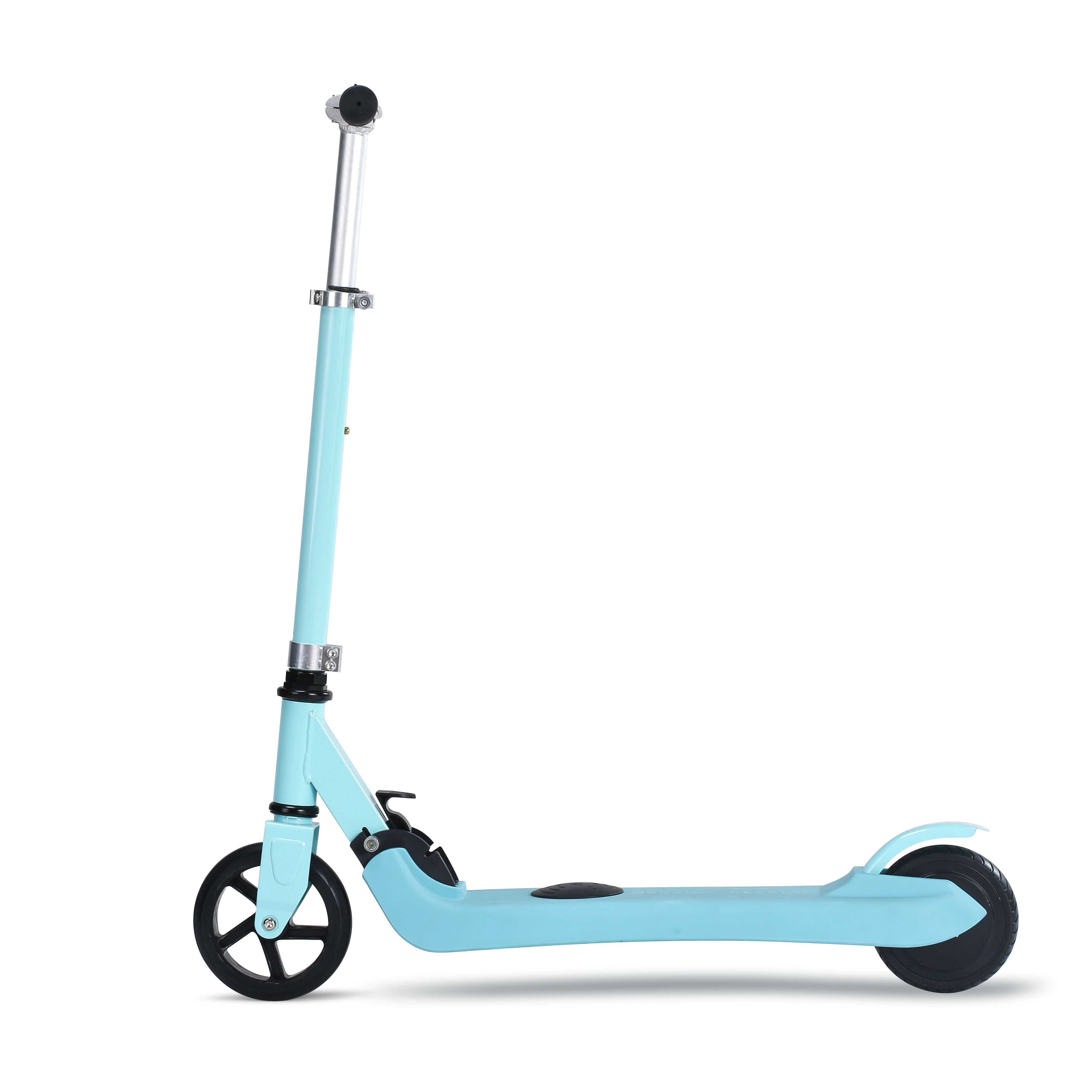 Two wheel folding kids kick start mini electric scooter for children