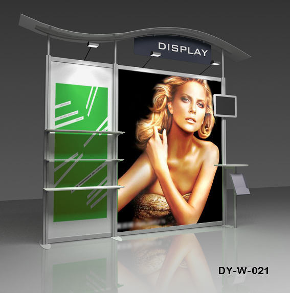 Aluminum Trade Show Stand Modular Exhibition Booth