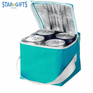 600d Custom Waterproof Insulated Disposable Beverage Drinks Mini Ice Cooler Bag For Cans Wine Beer Cover
