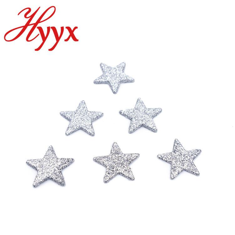 Hyyx Красочные Звезда Форма ногтей Блестки блестка оптовая продажа оптом блеск порошок для ногтей украшения