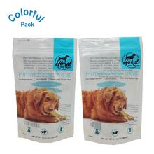 natural grain free dog food packing  bag customized pets food zipper pouch 50g stand up zipper cat foods packing