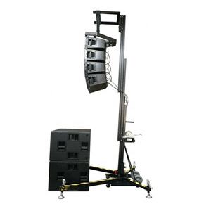 Line Array Crank Up Lifting Speaker Stand Voor Event Speaker Truss