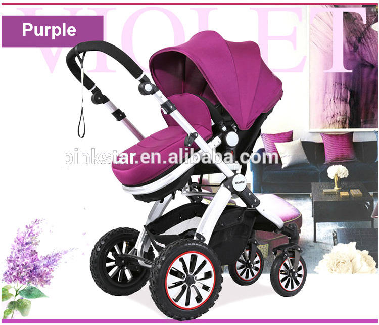 Mode Höher Land-scape 3-in-1 travel system kinder baby kinderwagen buggy