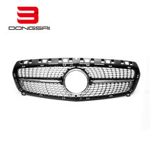 Auto front grille ABS diamond black grille  for Mercedes W176 2013-2015 front grille