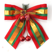 PE big red  Christmas decoration bow