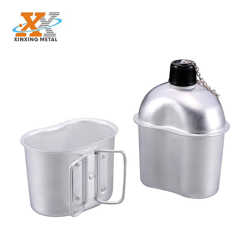 Aluminum Military Canteen Cup Army Canteen Drinking Canteen