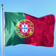 Custom Size Flag Factory Directly Polyester Flying Portugal Flag