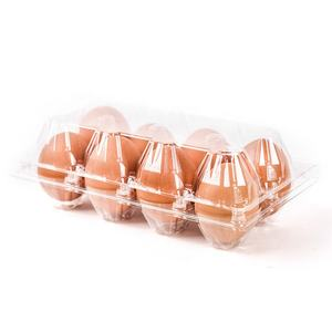 Customized disposable PVC egg blister tray duck Incubator covers clear quail for plastic egg trays