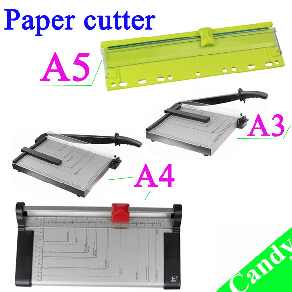 A5A4A3 mini trimmer carta ghigliottina taglierina di carta manuale