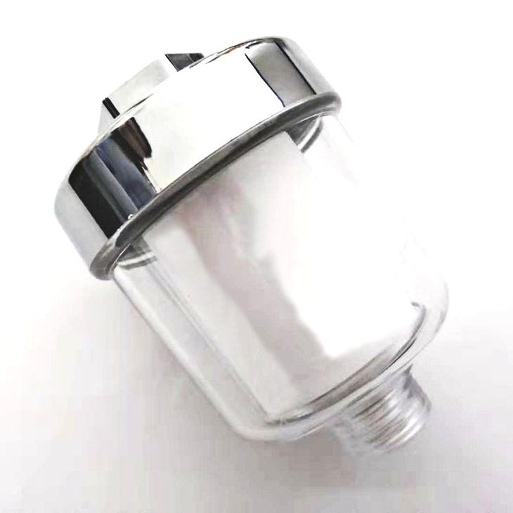 High quality Round Removing Chlorine Mini Water Filter bathroom Shower filter