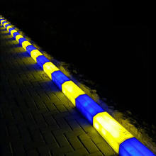Wholesale led light plastic curb stone road side pavement,led Pavement Curbs