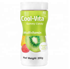 Private Label Support Immune System Mixed Fruits Flavor Multivitamin Soft Gummy Candy Sweets Bonbon