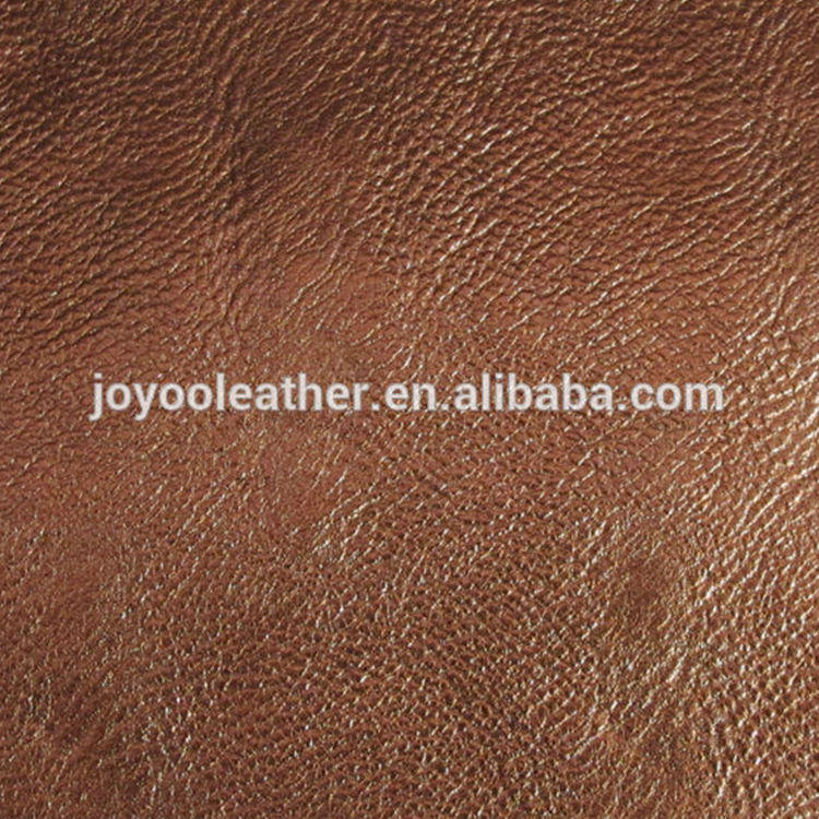 2018 Metal Effects synthetic leather for bag and wallets, shining pu sofa and bag leather