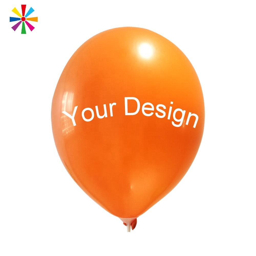 Cheap Round Latex Helium Custom Printed Ballons Balloons with Logo Printed