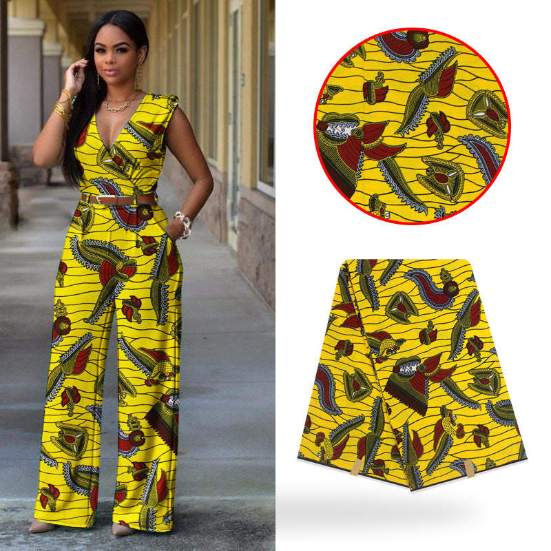 Wholesale good quality custom wax holland 100 % cotton african wax print fabrics 6yards