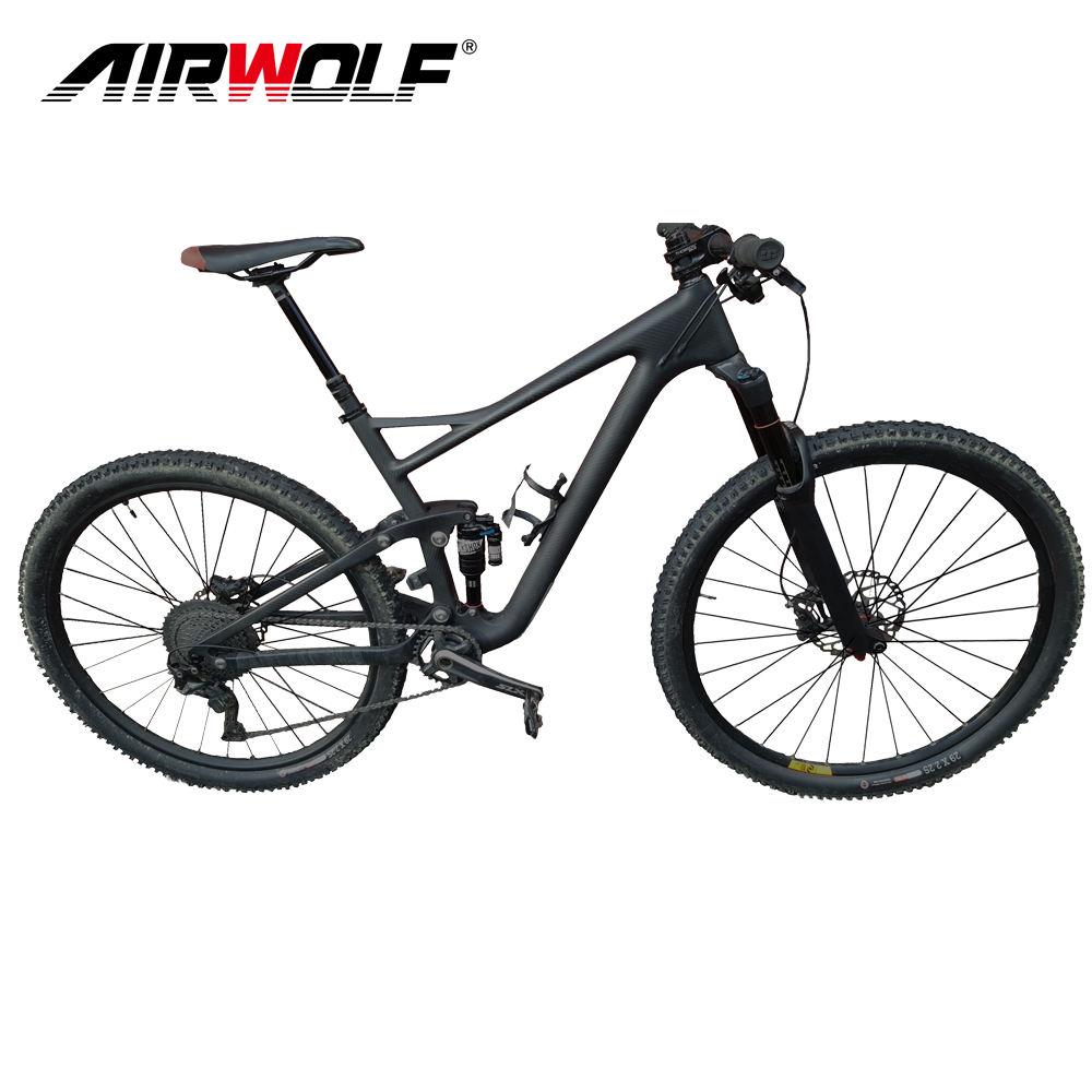 """27.5er 20/"""" Toray Carbon MTB Frame UD MATT Mountain Bike Internal 9mm qr BB30 BSA"""