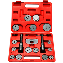 High quality Universal 18PCs Disc Brake Caliper Wind Back Adapter Tool Kit for auto repair tool