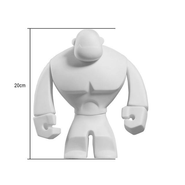 Custom Make Blank PVC Figures, DIY Blank White Vinyl Toys