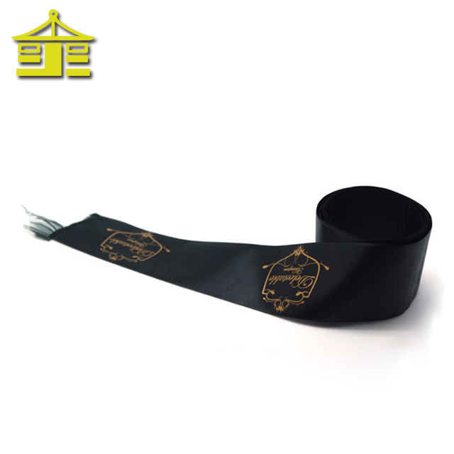Wholesale decorative roll pattern custom personalised decoration woven silk printed grosgrain satin ribbon