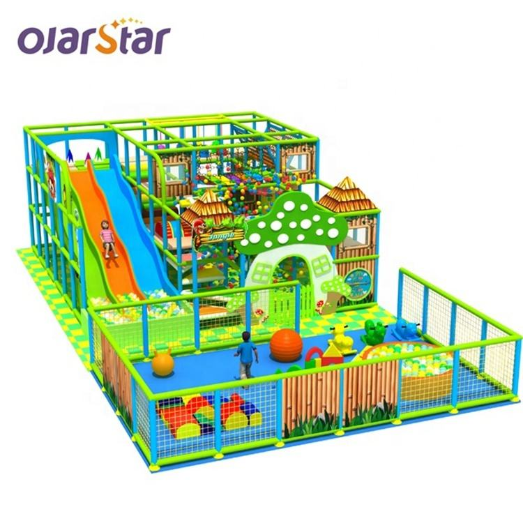 One-Stop Service Playground Equipment Worldstar Children Slide Indoor Playground Equipment