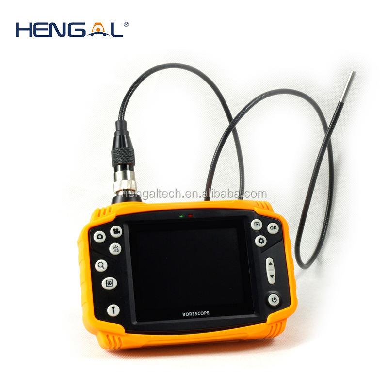 4.5mm <span class=keywords><strong>en</strong></span> <span class=keywords><strong>acier</strong></span> inoxydable tête de caméra 3.5 ''LCD moniteur IP67 Étanche portable endoscope caméra