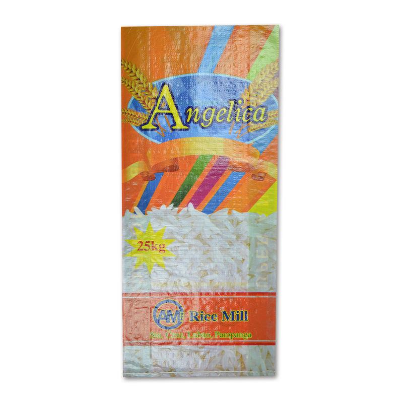 100% virgem rice, pp woven sack com o meu saco de plástico design digital trigo, embalagens, do feijão, semente
