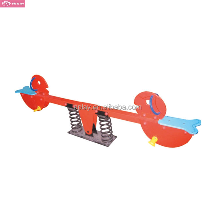 Outdoor seesaw for kids park playground rock bird free standing set