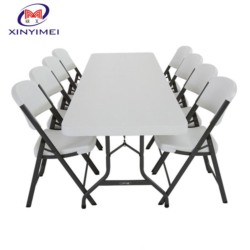 Rental Plastic Banquet Foldable Chairs And Tables
