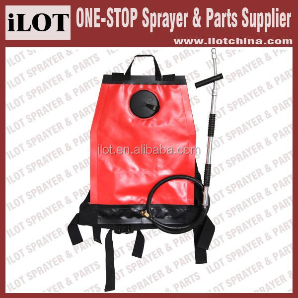 iLOT Portable backpack Fire extinguisher sprayer for smoke chaser