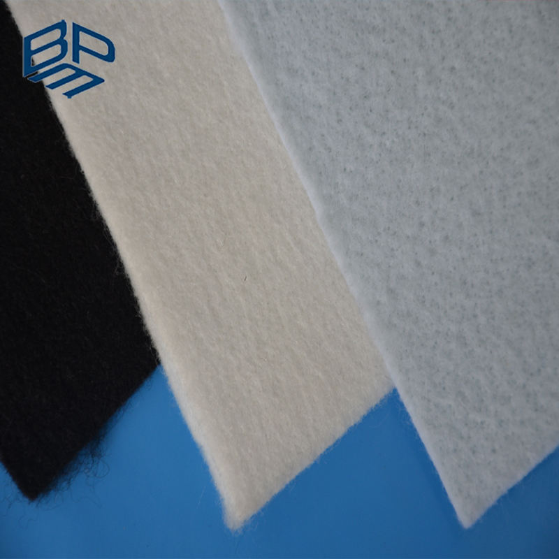 100% Virgin PP/PET Non Woven Impermeable Geotextile Fabric
