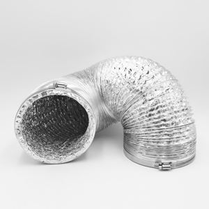 aluminum foil ventilation flexible air duct for HVAC system tools and parts