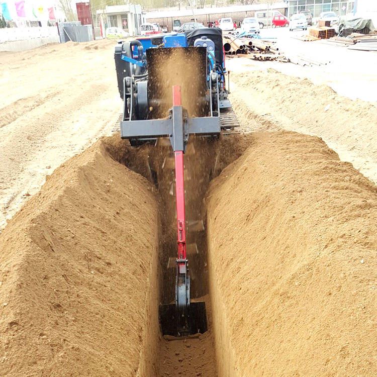 China best quality chain trencher
