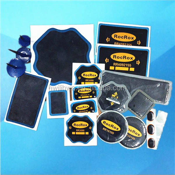 ROCROX Vulcanizing tire repair patches
