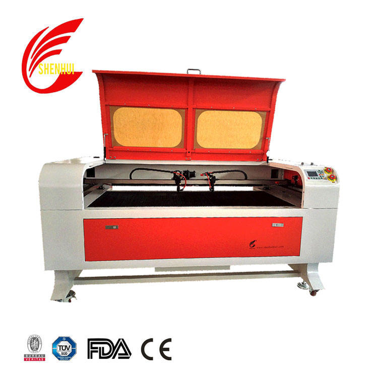 up to 256 colors laser cutting machine for embroidery packing and paper industry