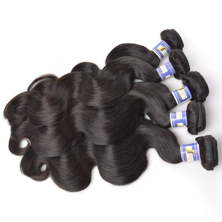virgin 100% wholesale raw kbl brazilian body wave hair