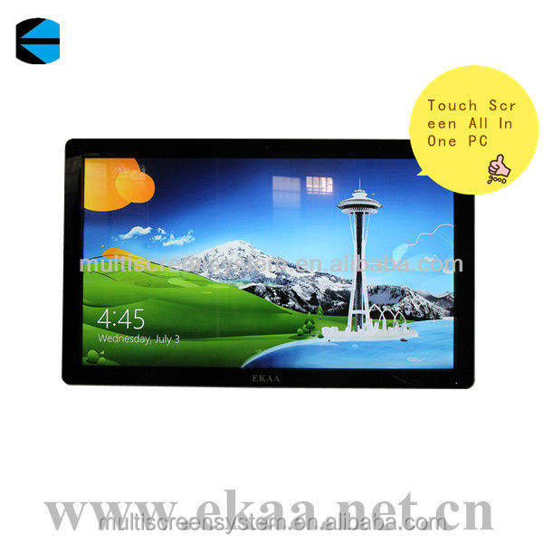 computer all in one desktop pc/touch all in one computer educational/55 inch EKAA touch screen all in one pc tv computer monitor