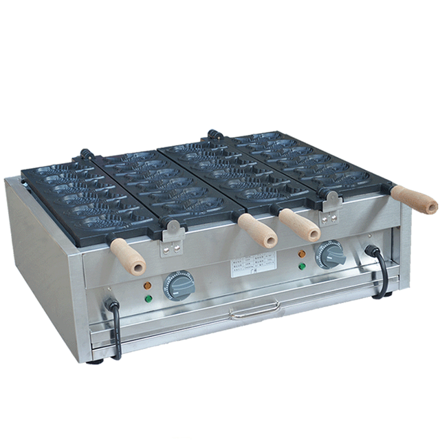 Industrial Made in China Ice cream snapper burning equipment/Open Mouth Fish Cake Taiyaki Making Machine