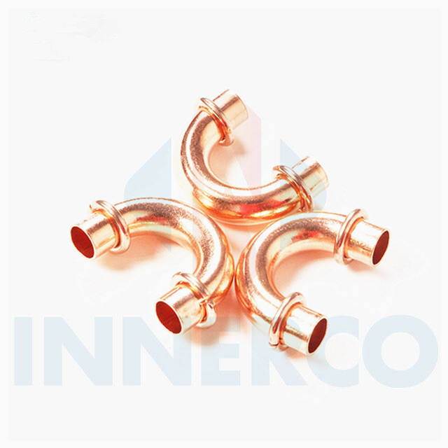Good quality refrigerant ac copper pipe fitting list u bend for air conditioning