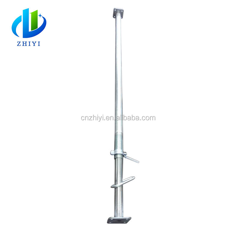 Heavy duty dipping painted adjustable pillar for building