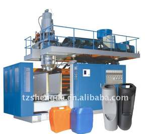 HDPE LDPE PE PP plastic extrusion blow molding machine