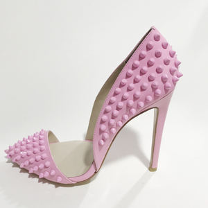 Hottest sexy studded pump shoes