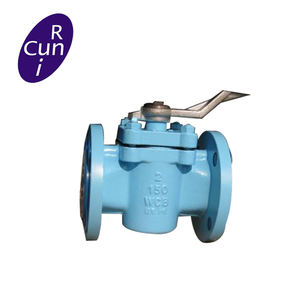 Different sizes PTFE/PPL Sleeve 150lb Plug Valve