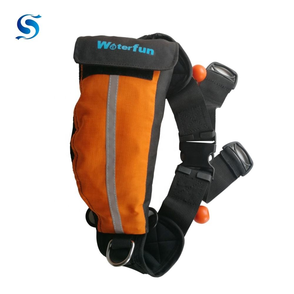 Waterfun Water Rescue Pro Waist Throw Rope Bag
