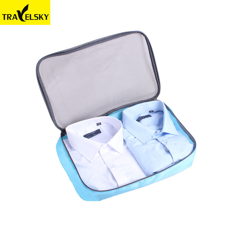 Travelsky Custom Gantung Tas Penyimpanan 3 Piece Set Travel Organizer Packing Cube Set