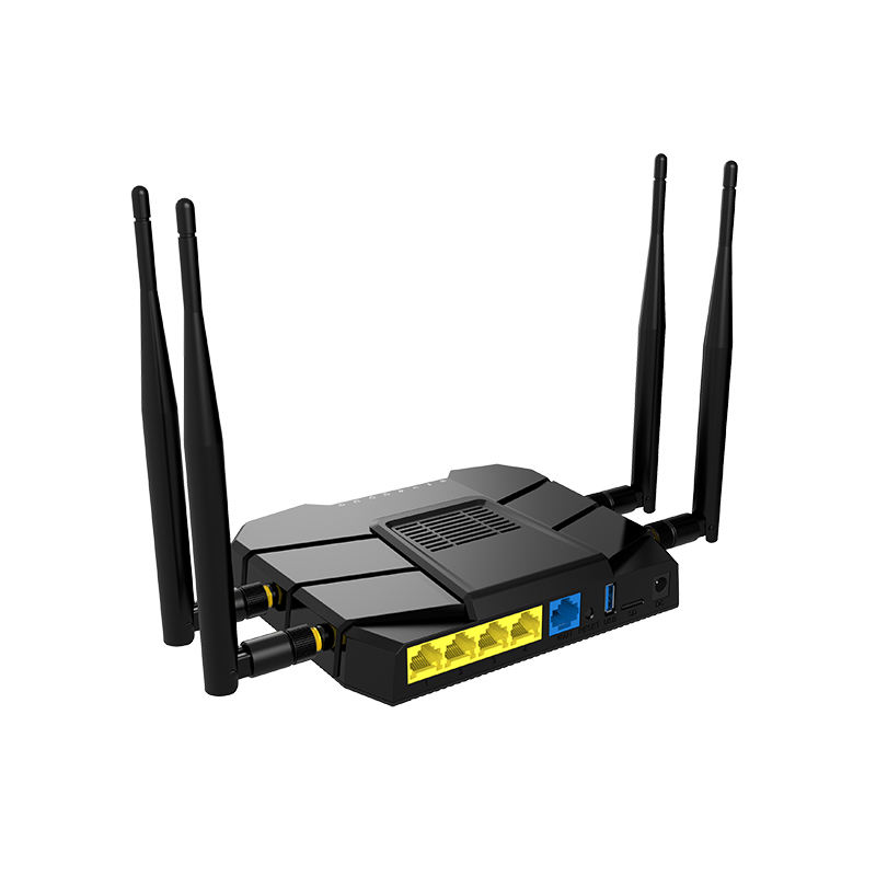 ยาว Wifi 1200 Mbps 19216811 Wi Fi 3G4G Gigabit Wireless Router