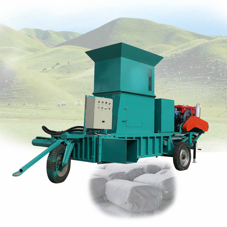 cheap price square baler rice husk baler hay baler