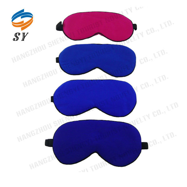 Factory sell directly good quality sleeping silk eye mask